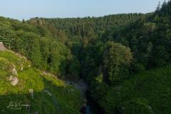View from Robertville Dam