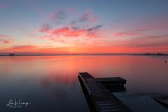 Sunrise   Zonsopkomst Reeuwijkse plassen 2
