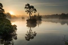 Sunrise   Zonsopkomst Oisterwijk Groot Goorven