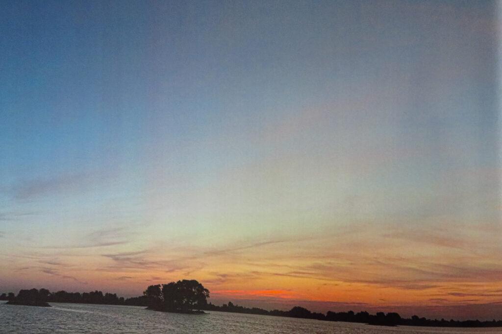 Fotofabriek zonsopkomst